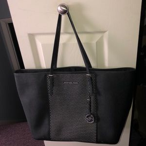Michael Kors Studded Jet Set Tote Bag